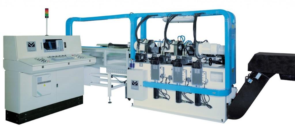 centro di lavoro per la produzione di ganci laterale
